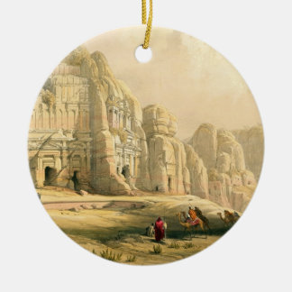 Petra, March 8th 1839, plate 96 from Volume III of Christmas Ornament