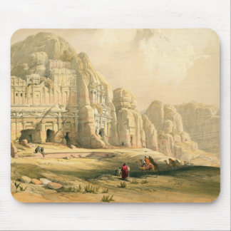 Petra, March 8th 1839, plate 96 from Volume III of Mouse Pad
