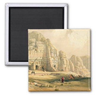Petra, March 8th 1839, plate 96 from Volume III of Square Magnet