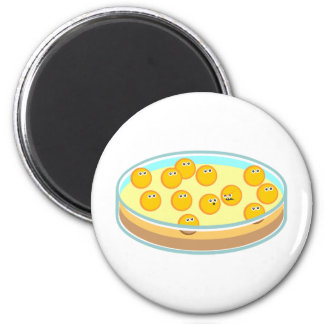 Petri Dish MRSA 6 Cm Round Magnet