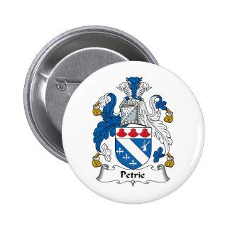Petrie Family Crest 6 Cm Round Badge