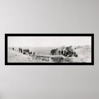 Petrified Bridge, AZ Photo 1908 Poster
