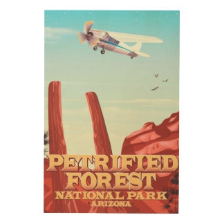 Petrified forest national park, Arizona. Wood Wall Decor