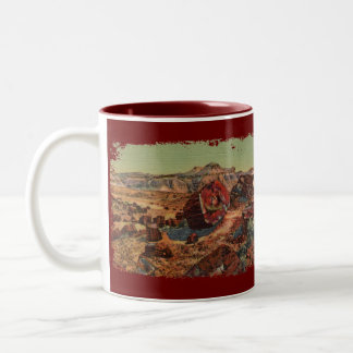 Petrified Forest Painted Coffee Mug