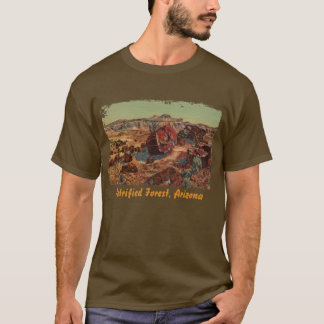 Petrified Forest Painted Men's Shirt