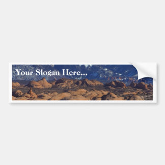 Petrified Sand Dunes At Arches National Park Bumper Sticker