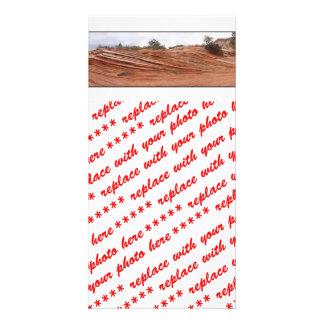 Petrified Sand Dunes Custom Photo Card
