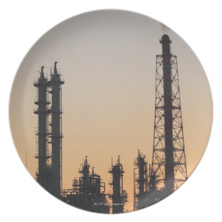 Petrochemical Plant Plate