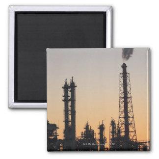 Petrochemical Plant Square Magnet