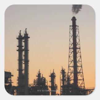 Petrochemical Plant Square Sticker