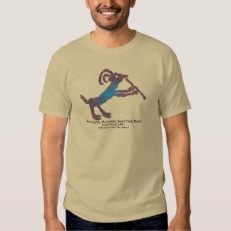 Petroglyph, Mountain Goat Flute Player T-shirt