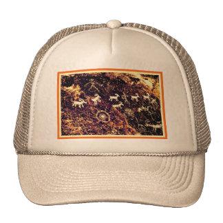 PETROGLYPHS NEVADA DESERT AMERICAN SOUTHWEST CAP
