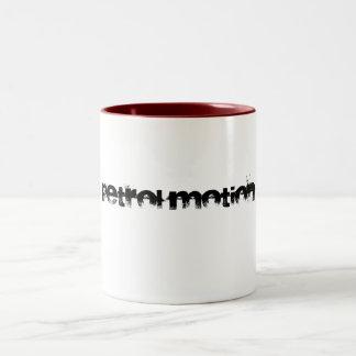 petrol motion mug