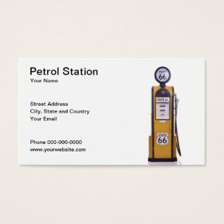 Petrol Station Business Card