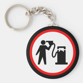 Petrol Suicide Key Chain