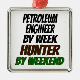 Petroleum Engineer Hunter Christmas Ornament