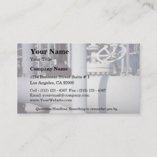 Petroleum business cards zazzle uk petroleum refinery pipeline business card reheart Gallery
