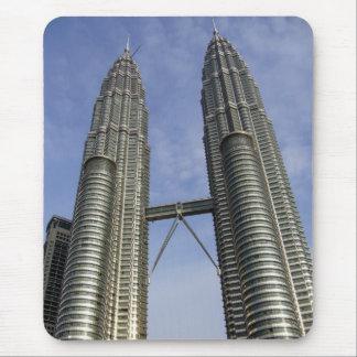 petronas towers kl mouse pad