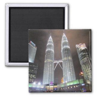 petronas towers malaysia magnet