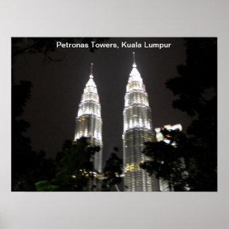 Petronas Towers poster