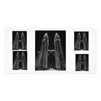 Petronas Twin Towers Personalized Photo Card