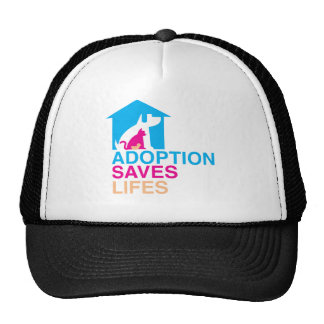 Pets Adoption Saves Lifes Trucker Hats