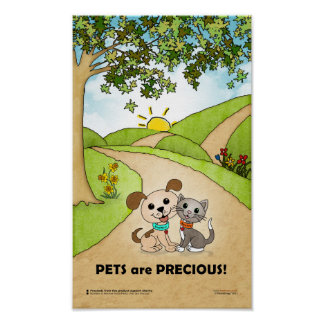 Pets are Precious ... (BowWow & MeeYow) Poster