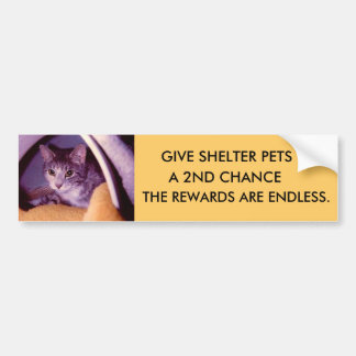 PETS BUMPER STICKER