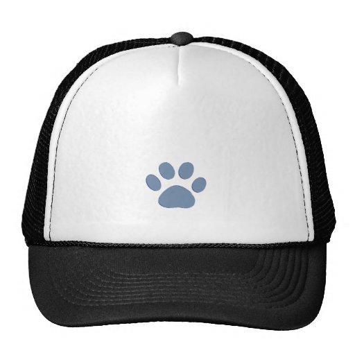 pets dog cat pawprints mesh hat