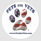 Pets for Vets Sticker