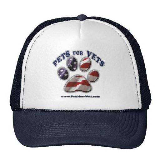 Pets for Vets www.pets-for-vets.com Cap