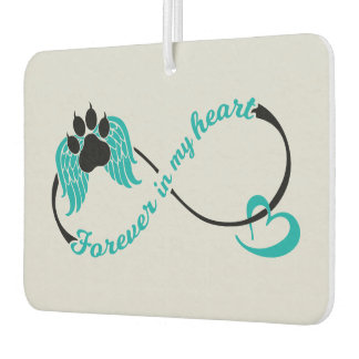 Pets Forever In My Heart Car Air Freshener