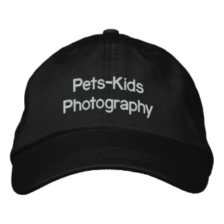 Pets-Kids Photography  CAP Embroidered Baseball Caps