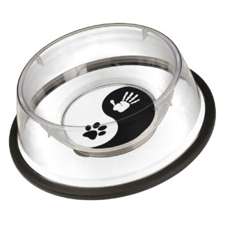 Pets - Large Hand To Paw Bowl (tapered/non-skid)