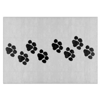 Pets Paw Prints Cutting Boards