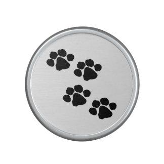 Pets Paw Prints Bluetooth Speaker