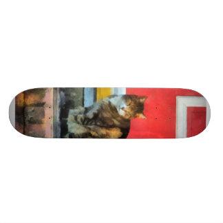 Pets - Tabby Cat by Red Door Skate Board Deck