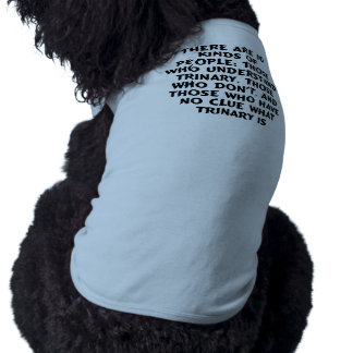 Pets) There are 10 kinds...trinary (dog t-shirt) Sleeveless Dog Shirt