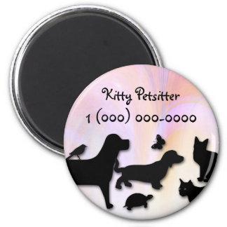 Petsitter Cats Dogs Magnet