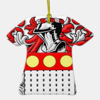 Pettengill Coat of Arms Christmas Tree Ornaments