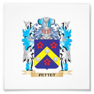 Pettet Coat of Arms - Family Crest Photo Art