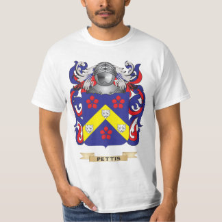 Pettis Coat of Arms (Family Crest) Tees