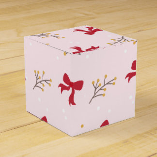 Petty cash For Christmas presents Rosa Favour Box