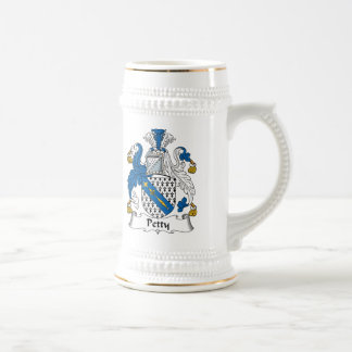 Petty Family Crest Beer Steins