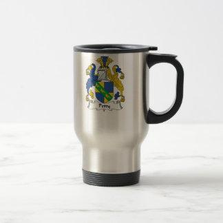 Petty Family Crest Stainless Steel Travel Mug