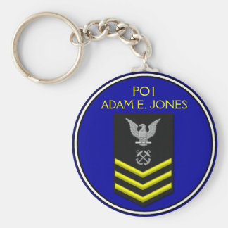 Petty Officer 1st Class Key Ring
