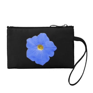 Petunia Blue and Yellow Bagettes Bag Coin Purse