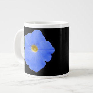 Petunia Blue and Yellow Mug