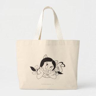 Petunia Dreaming Large Tote Bag