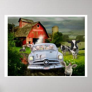 Petunia Pig's Barnyard Joyride Posters